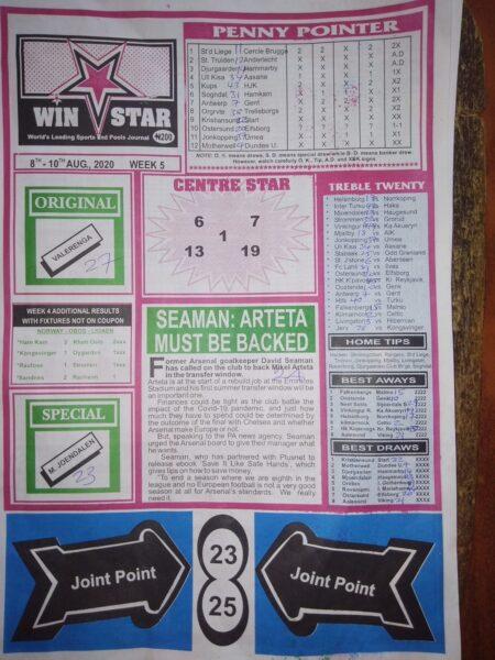 Week 5 Winstar Page 1 2020