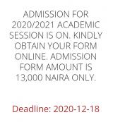 DESOMATECH extends Post UTME registration deadline for 2020/2021 session