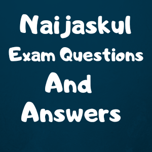 NECO MARKETING QUESTIONS AND ANSWERS
