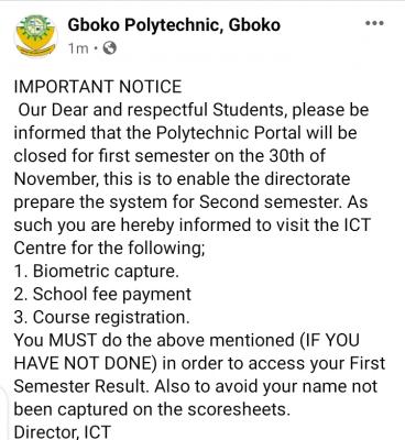 Gboko Polytechnic