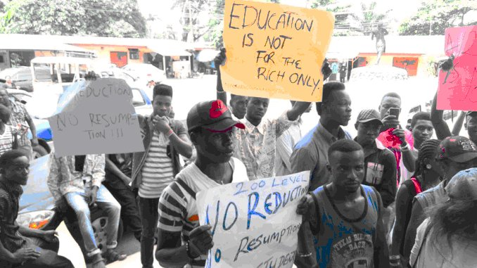 studend protest