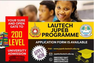 LAUTECH extends JUPEB application