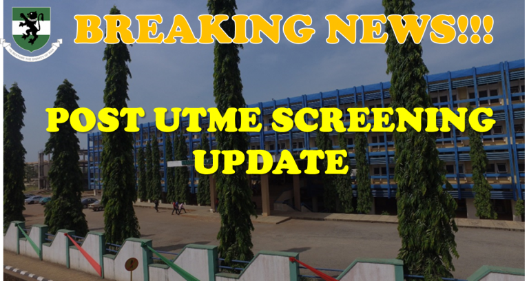 UNN notice to candidates ahead of 2020 Post UTME screening exercise