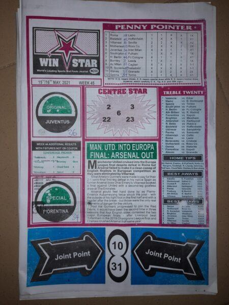 week 45 winstar 2021 page 1