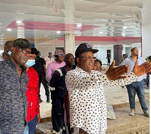 Ebonyi state governor David Umahi